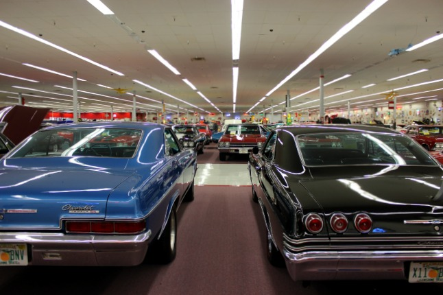 Visiting Muscle Car City Gone To Swan
