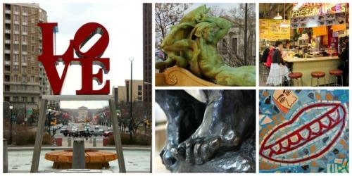 Philadelphia - Philly art collage