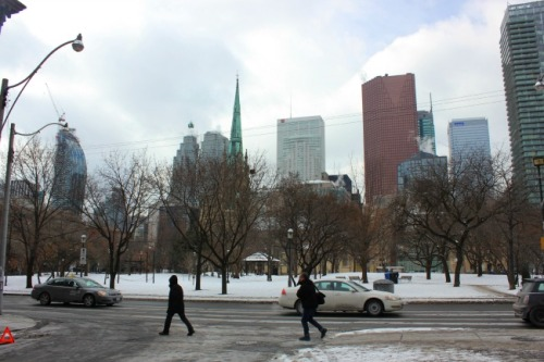 Toronto - winter day