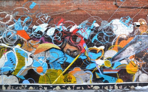 Toronto - graffiti eyes