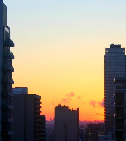 Toronto - intense sunset