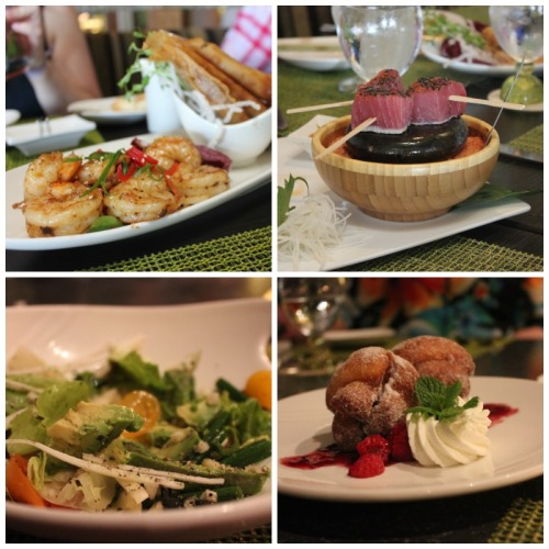 Maui - Ko Restaurant collage