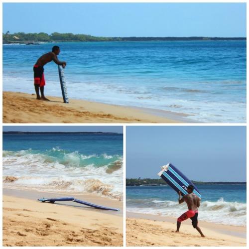 Maui - Makena beach collage