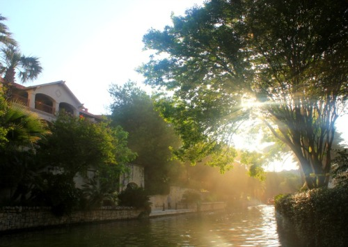 San Antonio - morning Riverwalk