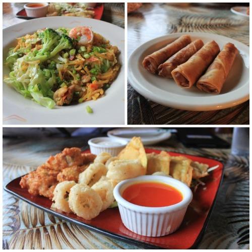 Maui - Tante's cuisine trio