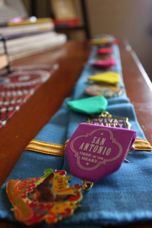 San Antonio - fiesta medals