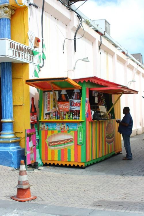 St Maarten - snack shack