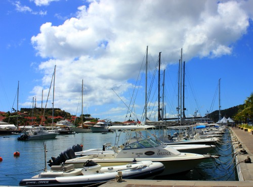 St Barth -  harbour