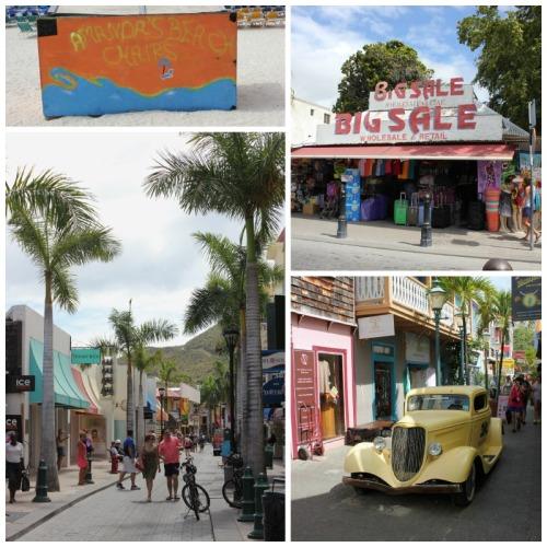 St Maarten - downtown Phillipsburg