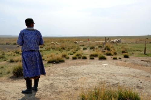 China - Inner Mongolia farmer