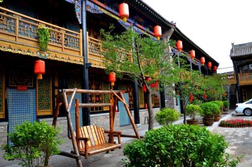 Pingyao - guesthouse courtyard