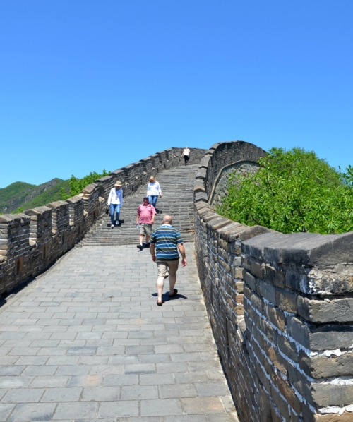 China - Great Wall steps