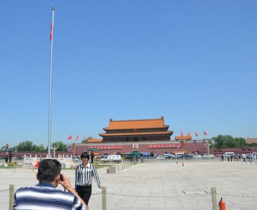 China - Beijing Qianamen Sq b