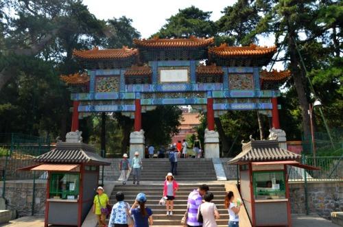 China - Summer Palace entry
