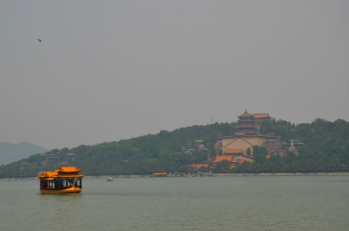 China - Summer Palace dragon boat