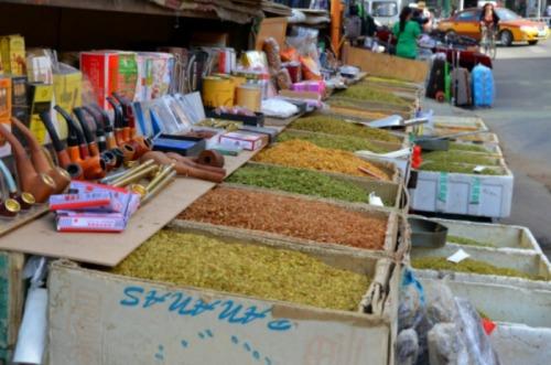 China - Hohhot street market