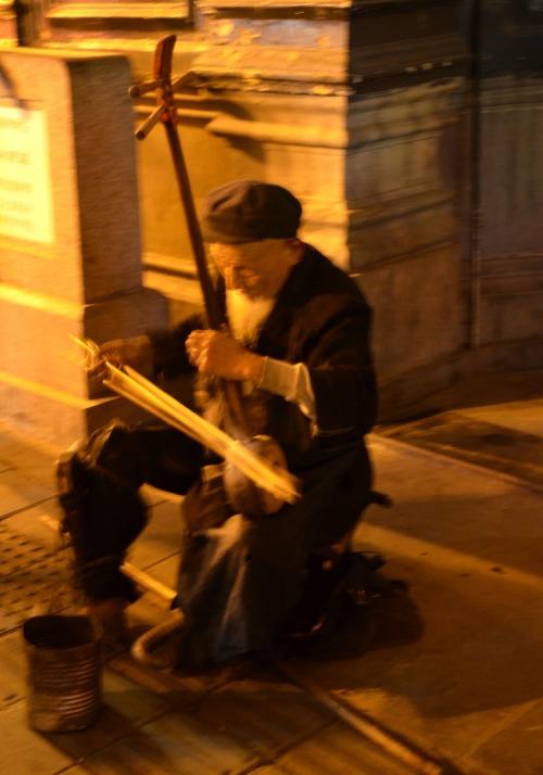 China - Beijing street musician