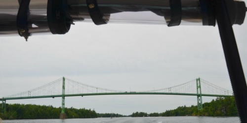 Ontario - T islands bridge