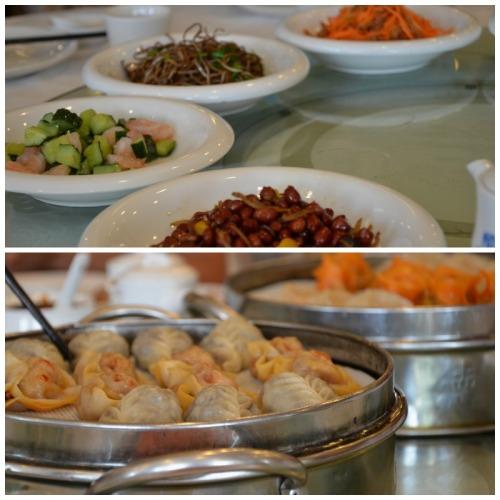 Xian dumpling lunch