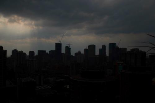 Toronto - storm skyline