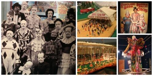 Sarasota - circus collage
