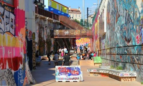 Marseille - La Friche skatepark