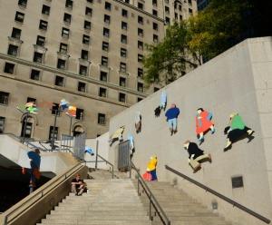 Toronto - Front Street sculptures