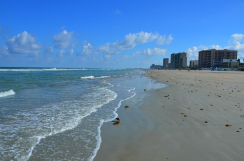 Florida - Daytona Beach looking south