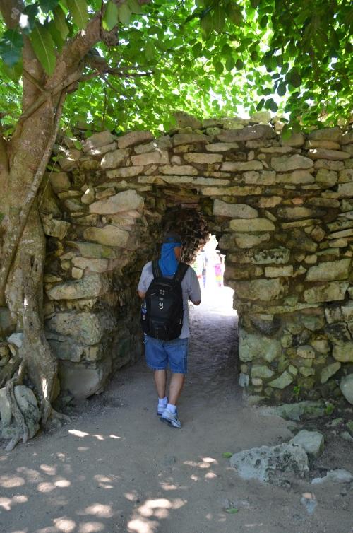 Mexico - Tulum entrance