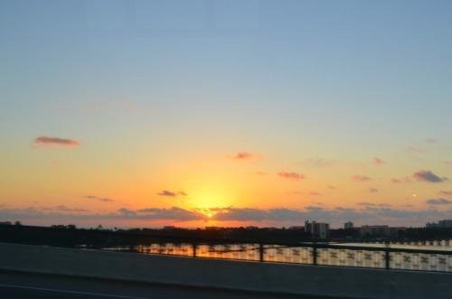 Florida - Daytona sunrise
