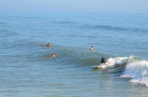 Florida - Daytona surfing near the pier