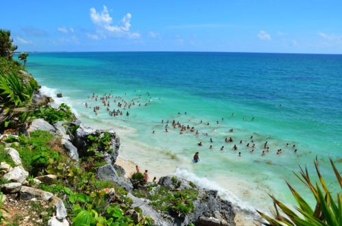 Mexico - Tulum beach