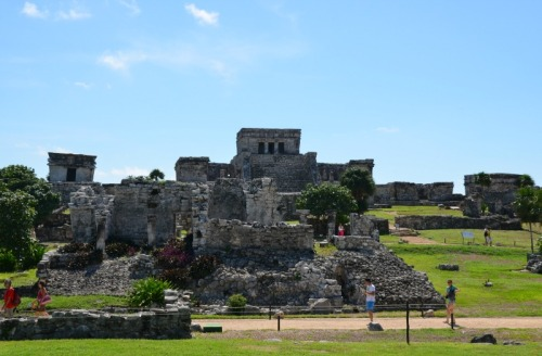Mexico - Tulum temple