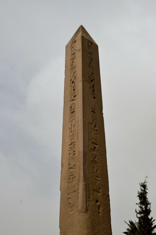 Egypt - obelisk with hieroglyphs