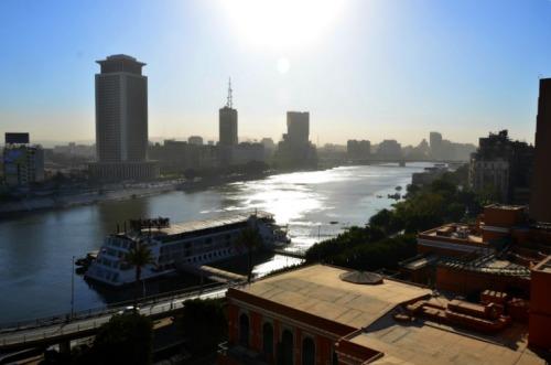Egypt - Cairo hotel view