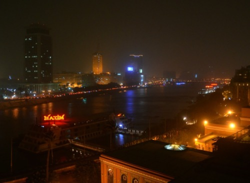 Egypt - Cairo night lights
