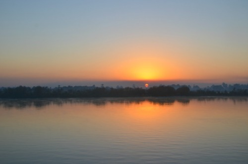 Edfu sunrise
